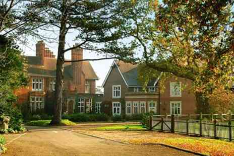 Pontlands Park Hotel - Two Course Dinner & Bubbly for 2 - Save 54%