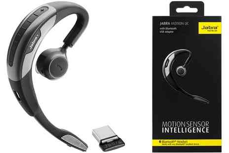 Groupon Goods Global GmbH - Jabra Motion UC Bluetooth Headset in Black, Grey With Free Delivery - Save 0%