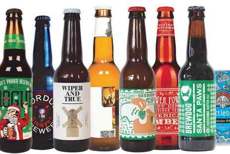 Beer52 - Eight Craft Beers with Magazine, Snack - Save 0%