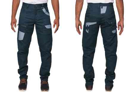 Groupon Goods Global GmbH - Mens ETO Twisted Twill Jeans - Save 0%