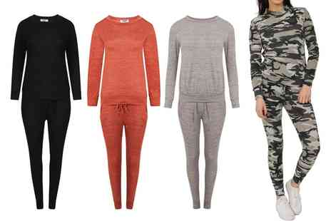 Groupon Goods Global GmbH - Womens Two Piece Tracksuit - Save 7%