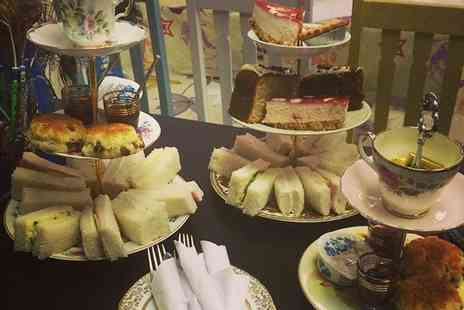 Mad as a Hatter Tea Party - Afternoon Tea with Soup for Two or Four - Save 36%