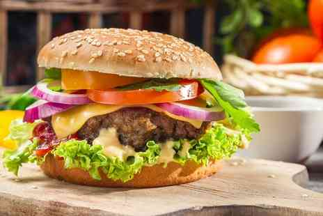 The Blue Chair Boutique Cafe - Personalised Burger for Two or Four - Save 43%