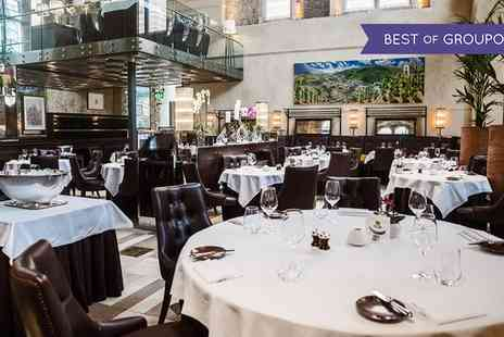 La Chapelle - Michelin Starred Three Courses with Glass of Brut for Up to Four People - Save 0%