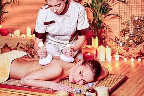 Navana World Massage - Festive Pamper Package with Two Treatments - Save 53%