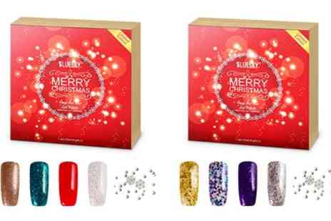 Groupon Goods Global GmbH - BlueSky Christmas Gel Nail Polish Set With Free Delivery - Save 24%