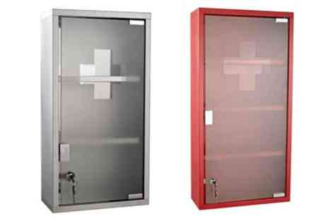 Groupon Goods Global GmbH - Stainless Steel Wall Mounted Medicine Cabinet With Free Delivery - Save 0%