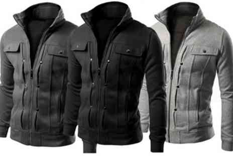 Groupon Goods Global GmbH - Mens Cotton Blend Jacket With Free Delivery - Save 0%