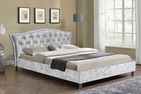 Groupon Goods Global GmbH - Georgio Italian Bed With Mattress Include Free Delivery - Save 77%
