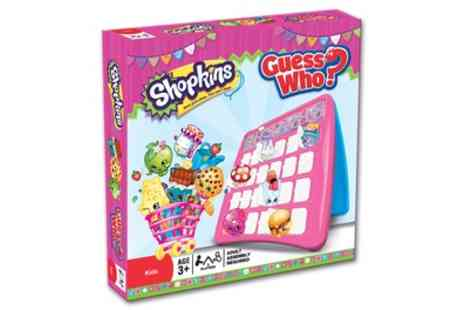 Groupon Goods Global GmbH - Guess Who Shopkins Edition Game - Save 24%