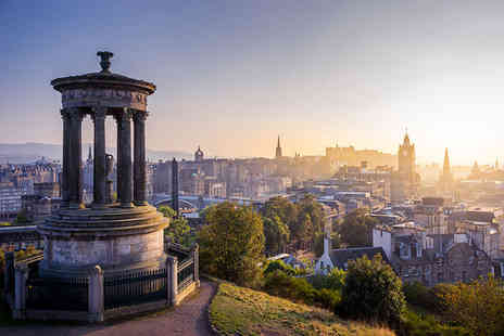 Cityroomz Edinburgh - Overnight city break for two with breakfast and a goody bag - Save 40%
