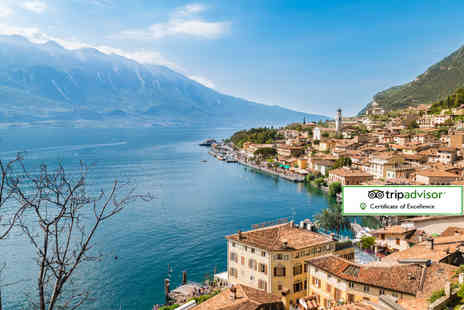 ClearSky Holidays - Two, three or four night 4 Star Lake Garda break including spa access, breakfast and flights - Save 39%