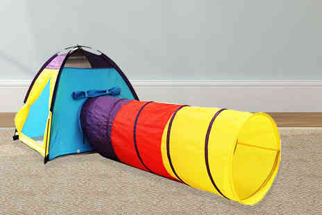 Consumable Direct  - Kids play tent choose from three designs - Save 72%