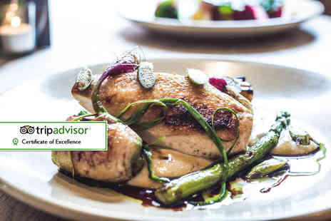 The Milestone - Two course meal for two people - Save 59%