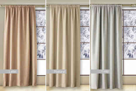 Groundlevel - Luxury thermal blackout door curtain - Save 74%
