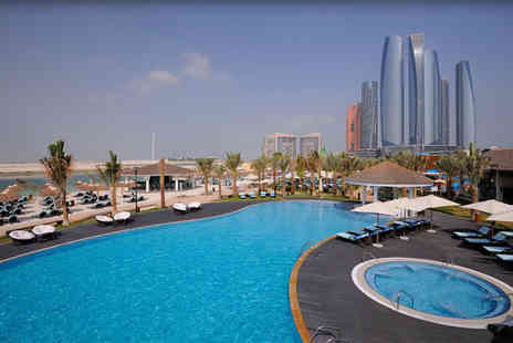 InterContinental Abu Dhabi - Five Star 7 nights Stay in a Deluxe Sea View Room - Save 0%