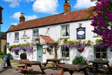 Castle Arms Inn -  Two Night Stay with Meals - Save 39%