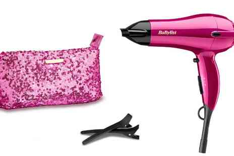 Groupon Goods Global GmbH - BaByliss Shimmer Collection Hair Dryer Gift Set - Save 0%