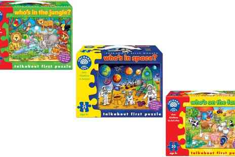 Groupon Goods Global GmbH - Orchard Toys Talkabout Puzzle - Save 0%