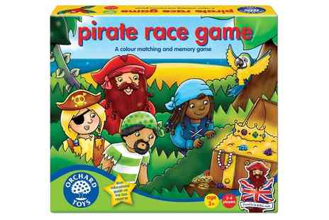Groupon Goods Global GmbH - Orchard Toys Pirate Race Game - Save 0%