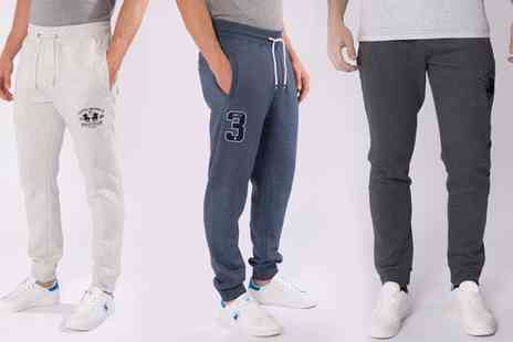 Groupon Goods Global GmbH - Mens Santa Monica Polo Club Jogging Trousers - Save 0%