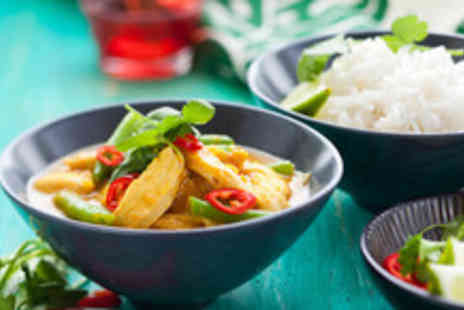 Royal Orchid - Two course Thai meal for two & a glass of wine each - Save 60%