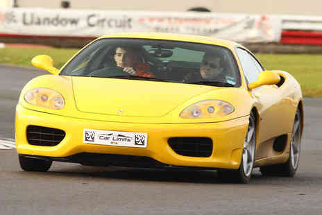 Supercar Test Drives - Weekday or weekend three lap Ferrari driving experience - Save 74%