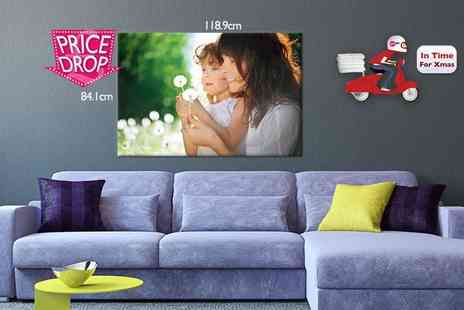 Your Perfect Canvas - A0 monster photo canvas - Save 79%