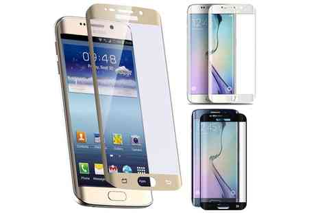 Groupon Goods Global GmbH - Samsung Galaxy S6 Edge Tempered Glass Screen Protector - Save 0%