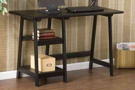 Groupon Goods Global GmbH - Langston Desk With Free Delivery - Save 0%