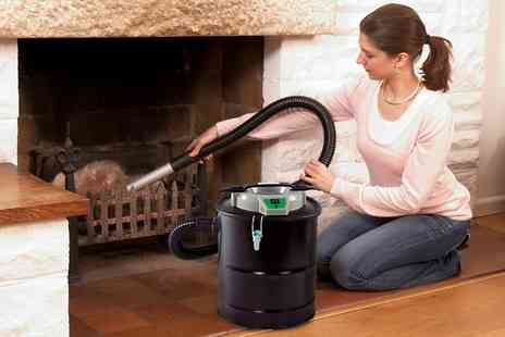 Groupon Goods Global GmbH - 15L 800W Ash Vacuum Cleaner With Free Delivery - Save 0%