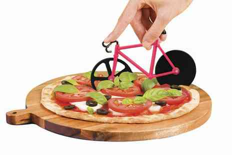 Groupon Goods Global GmbH - Bike Shaped Pizza Cutters - Save 0%
