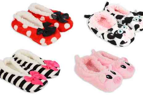 Groupon Goods Global GmbH - Womens Slippers in Choice of Style - Save 0%
