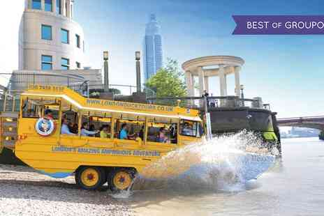 London Duck Tours - London Sightseeing Tour by River and Land - Save 29%