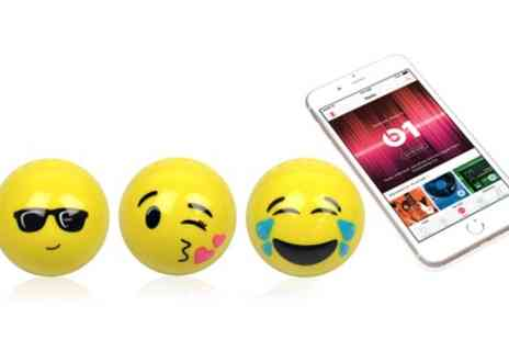 Groupon Goods Global GmbH - Emoji Bluetooth Speakers - Save 57%