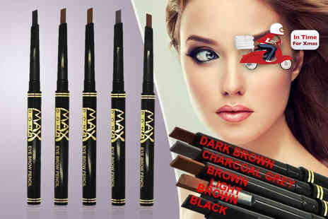 Quickclipin - Two long Lasting, water resistant eyebrow pencils available in five colours - Save 80%