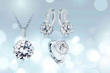 Fakurma - Crystal tri halo set - Save 94%