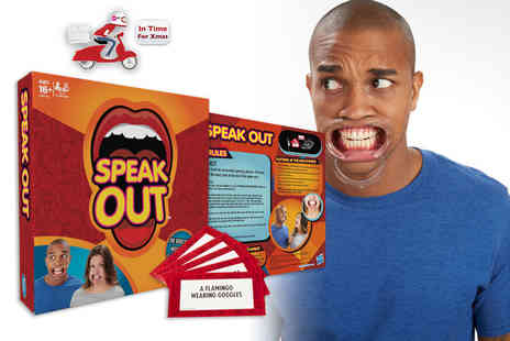 Gadgetmaster - Speak Out mouthpiece challenge game - Save 70%