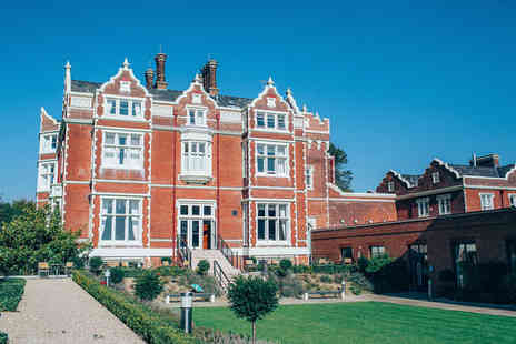 Wivenhoe House Hotel - Four Star 1 night Stay in a Luxury Suite - Save 15%