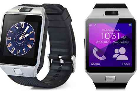 Groupon Goods Global GmbH - Apachie Bluetooth Smart Watch with Camera and Sim Card Function - Save 70%