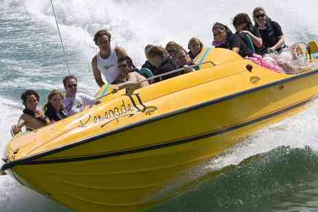 Saber Powersports - Two Hour Jet Viper Speedboat Experience for Up to Four - Save 74%