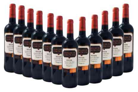 Monte Regio - 12 Bottles of Spanish Rioja Crianza Red Wine With Free Delivery - Save 53%