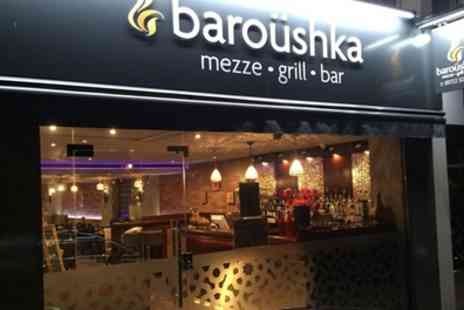 Baroushka - Two Course Lebanese Feast for Two or Four - Save 56%