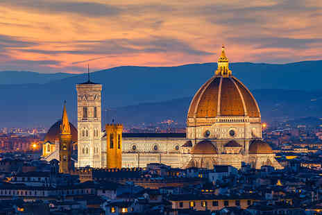 Weekender Breaks - Eight night Venice, Rome, Florence and Milan break including return flights and train transfers - Save 26%