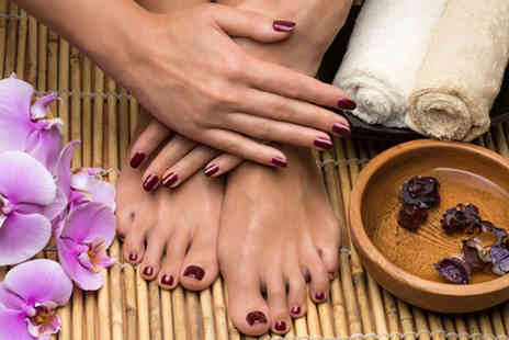 Propaganda Hair and Beauty Salon - Gel manicure & pedicure - Save 53%