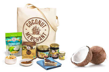 Coconut Merchant - Coconut sweet tooth bundle including coconut chips, jam, sugar, oil and honey alternative - Save 32%