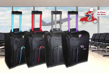 Pearl Info - Cabin approved suitcase choose from four designs - Save 75%