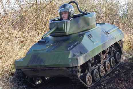 Leisure Matters - One Hour Mini Tank Driving Experience for Two to Four People - Save 34%