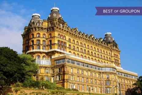Britannia Grand Hotel Scarborough - One Night Stay for Two with Breakfast and Option for Dinner and Wine - Save 0%