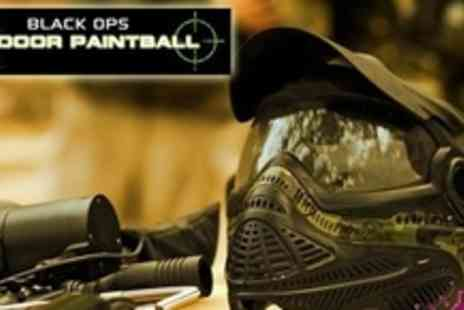 Black Ops Indoor Paintball - Paintballing For Two Plus 100 Pellets Each - Save 62%